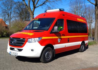 Neues Fahrzeug: Florian Pinneberg 26-11-01 meldet sich zum Dienst!