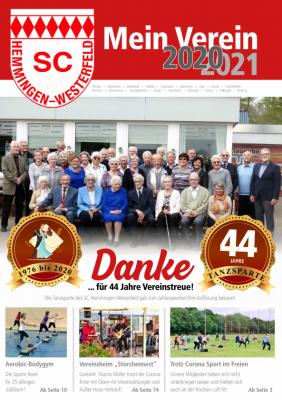 """Vereinszeitschrift """"Mein Verein 2020/2021"""""""