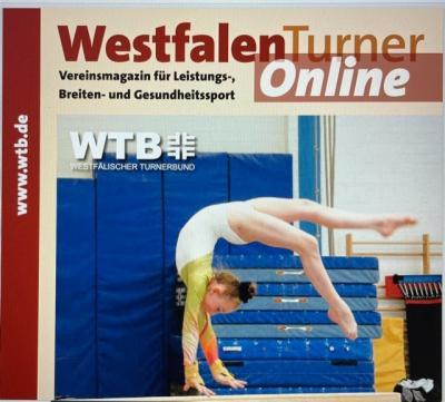 """Neueste Ausgabe des """"Westfalenturners"""" 5/2021 ist online"""