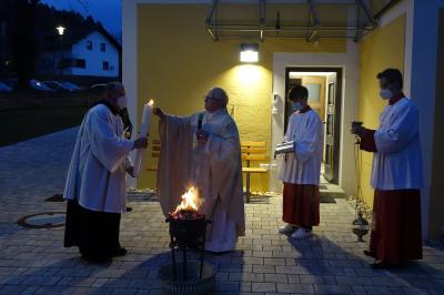 Foto zur Meldung: Ostern in unserer Pfarrgemeinde festlich gefeiert