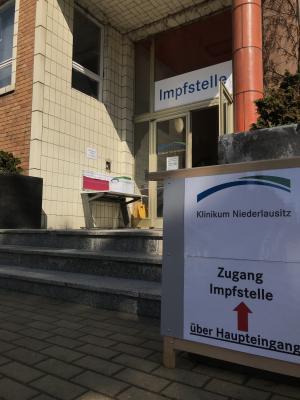 Klinikum Niederlausitz Impfstelle