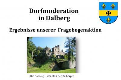 Dorfmoderation in Dalberg