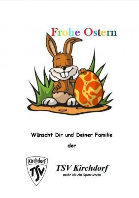 Ostern im TSV Kirchdorf >> Schnitzeljagd und Besuch SeniorInnen
