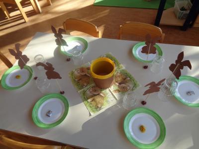 Osterfeier im Kindergarten Pfarracker