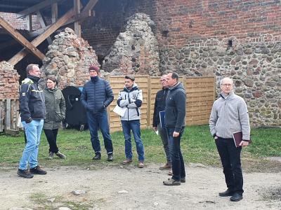 Vorschaubild zur Meldung: Bauanlaufberatung auf der Burg Beeskow
