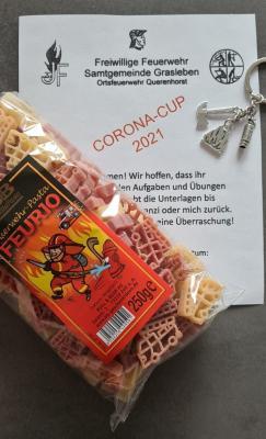 Abwechslung im Lockdown bot der Corona-Cup der Jugendfeuerwehr Querenhorst (Bild: Dennis Exner-Elvers)