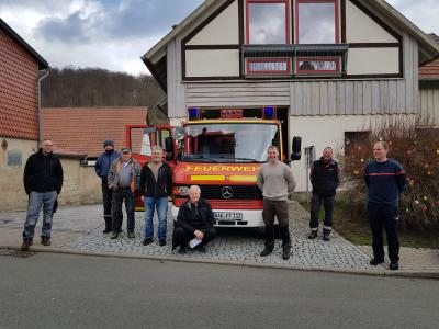 Ein neues Feuerwehrauto für Hallungen