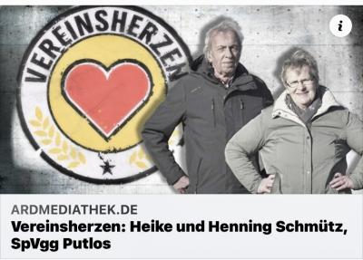 Vereinsherzen: Heike und Henning mit tollem NDR Bericht