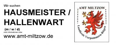 Hausmeister- / Hallenwart für das neue Schulzentrum gesucht