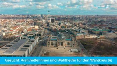 Foto zur Meldung: Gesucht: Helferinnen und Helfer für die Bundestagswahl 2021