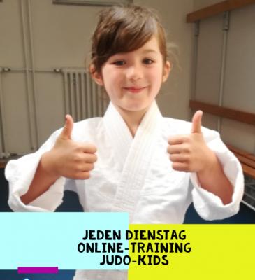 Foto zur Meldung: Jeden Dienstag Online-Training Judo-Kids!