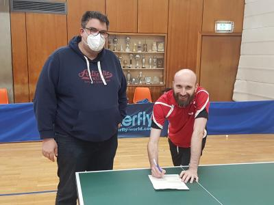 Tischtennis-Abteilung begrüßt ersten Neuzugang für die neue Saison