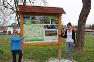 Neue Präsentationstafel Welterberegion Wartburg-Hainich