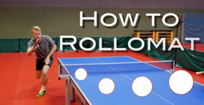 "Tischtennis: ""How to Rollomat?"""