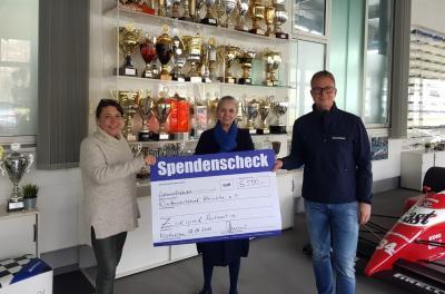 v.l.n.r. Ulrike Ring-Scheel, Lucinda Spielmanns, Philipp Zakowski