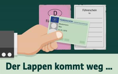 Foto zur Meldung: Diese Führerscheine müssen umgetauscht werden