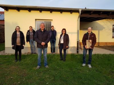 Foto zur Meldung: Der neue Ortsbeirat in Römershausen