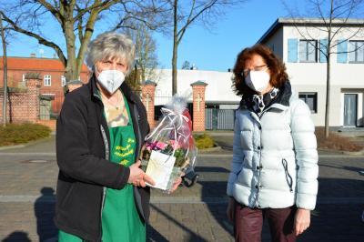 Hannelore Heise (l) und Anke Hahn vom Wittenberger Interessenring WIR I Foto: Martin Ferch