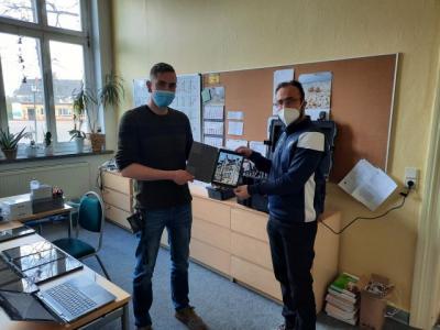 Tablets für Grundschule Meyenburg