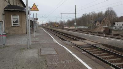 Foto zur Meldung: Bahnhof Lauchhammer wird modernisiert
