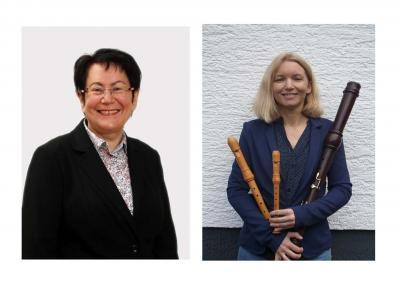 Bärbel Häge-Nüssle und Melanie Bogisch: Blockflöten