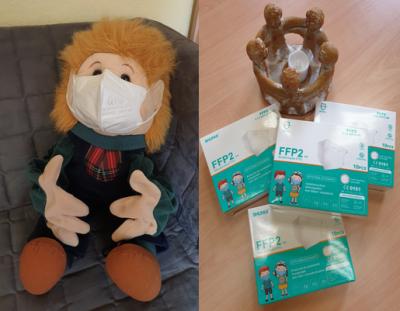 FFP 2 Masken für unsere Schulkinder