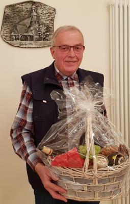 Heinrich Vackiner 40 Jahre im Ortsbeirat