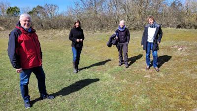 Foto zur Meldung: BUND-Projekt: Neue Lebensräume für Insekten