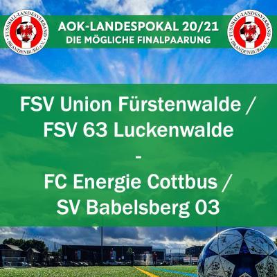 Vorschaubild der Meldung: Das sind die Halbfinals im AOK-Landespokal