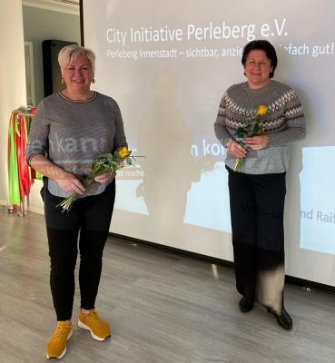 Bild der Meldung: Die City Initiative Perleberg hat gewählt – Jenny Porep im Amt bestätigt