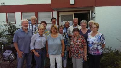 Mitglieder der Seniorenkommission im Jahr 2016. © Gemeinde Nauheim