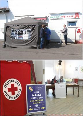Testzentrum Wriezen – Angebot für kostenlose Corona-Schnelltests für Bürgerinnen und Bürger wurde weiter ausgebaut