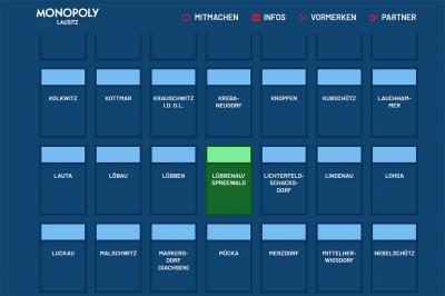 Monopoly Lausitz - Abstimmung für Lübbenau/Spreewald