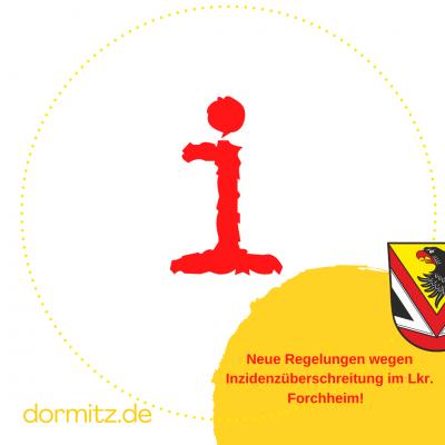 Inzidenz weiterhin über 100 im Landkreis Forchheim