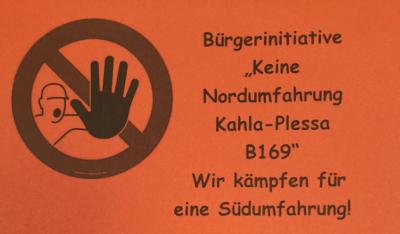 Flyer Bürgerinitiative