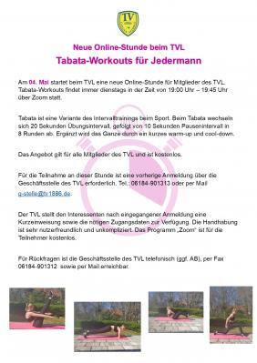Tabata-Workouts für Jedermann