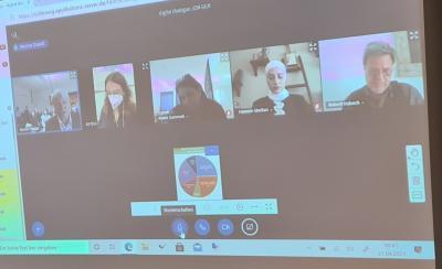 """Abschluss des Projektes """"Deutsch-Jordanischer Schülerdialog"""" (الحوار الطلابي الألماني – الأردني)"""
