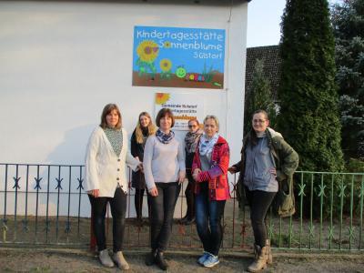 Foto zur Meldung: Erster Geburtstag des Gemeindekindergartens Sonnenblume