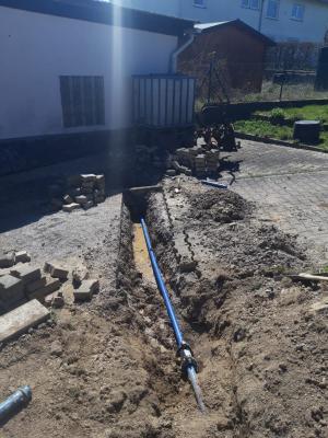 Reparatur Brunnenleitung