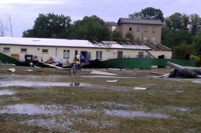 Foto zur Meldung: Abriss Sportlerheim - Weiterverfolgung der Pläne für Umsetzung eines Sportzentrums