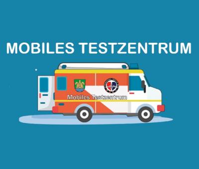 Mobiles Testzentrum, Grafik: Grünheide (Mark)