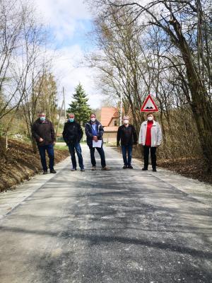 Freigabe des Radweges zwischen Mattstedt und der Poche