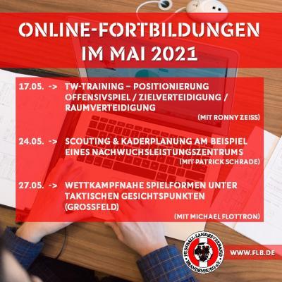 Vorschaubild der Meldung: Online-Fortbildungen im Mai jetzt buchen!