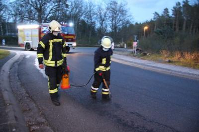 Foto zu Meldung: Zwei Feuerwehreinsätze an einem Abend
