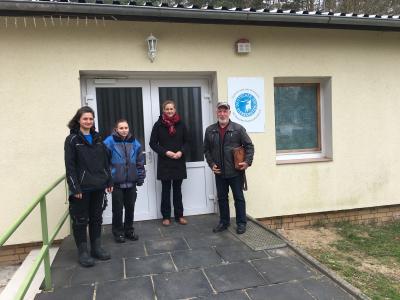 Besuch der Bundestagskandidatin Dr. Sabine Buder