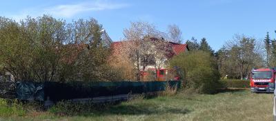 Wohnhausbrand in Walddrehna