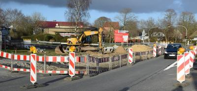 Foto zur Meldung: Gewerbe plädiert für Baustellenampel
