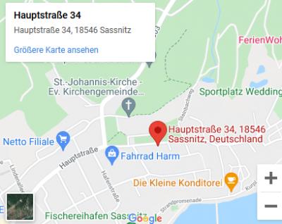 Hauptstraße 34 in 18546 Sassnitz