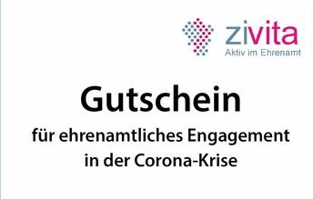 """Bürgerstiftung zivita sagt """"DANKE"""" in Corona-Zeiten und gibt 10.000 EURO für das Ehrenamt"""
