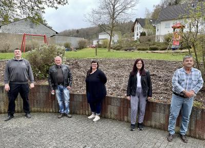 Unser Bild zeigt von links nach rechts: Tobias Haub, Uwe Scholl, Melanie Munguia-Mählmann, Michaela Dyll und Peter Smolczynski